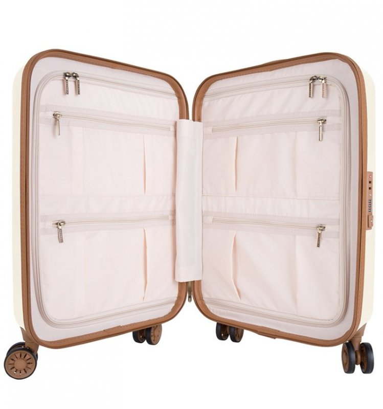 Kabinové zavazadlo SUITSUIT® TR-7104/3-S - Fab Seventies Antique White