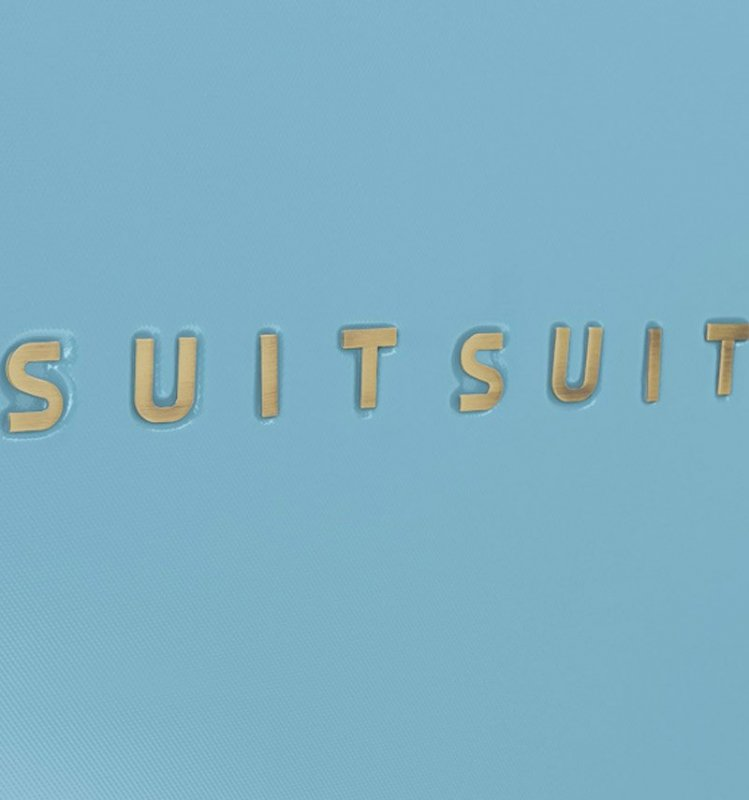 Cestovní kufr SUITSUIT® TR-7105/3-M - Fab Seventies Reef Water Blue