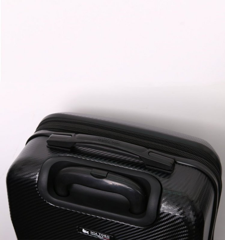Mia Toro M1713/3-L Torino cestovní kufr TSA 79 cm 101-126 l Silver