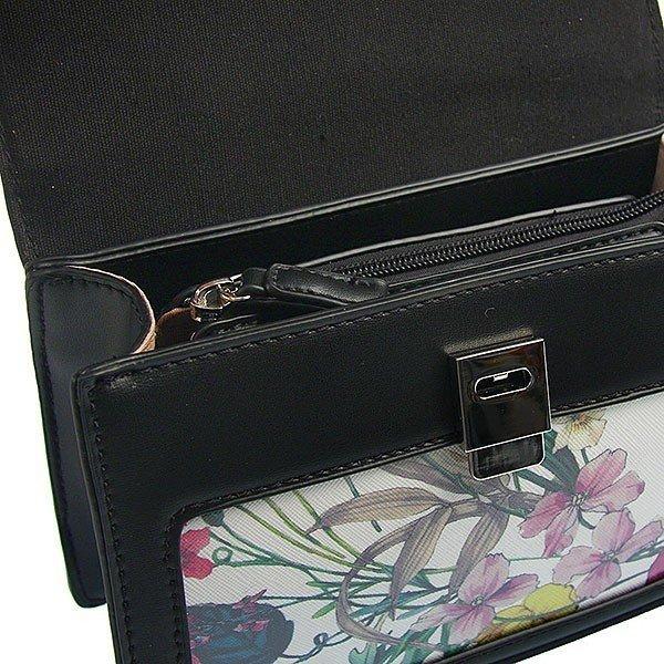 Malá černá aktovková dámská kabelka David Jones