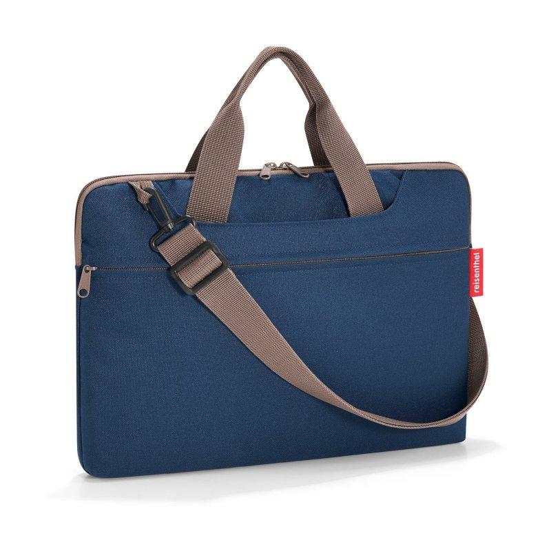 """Reisenthel Netbookbag elegantní taška na notebook 15,6"""" Dark Blue"""