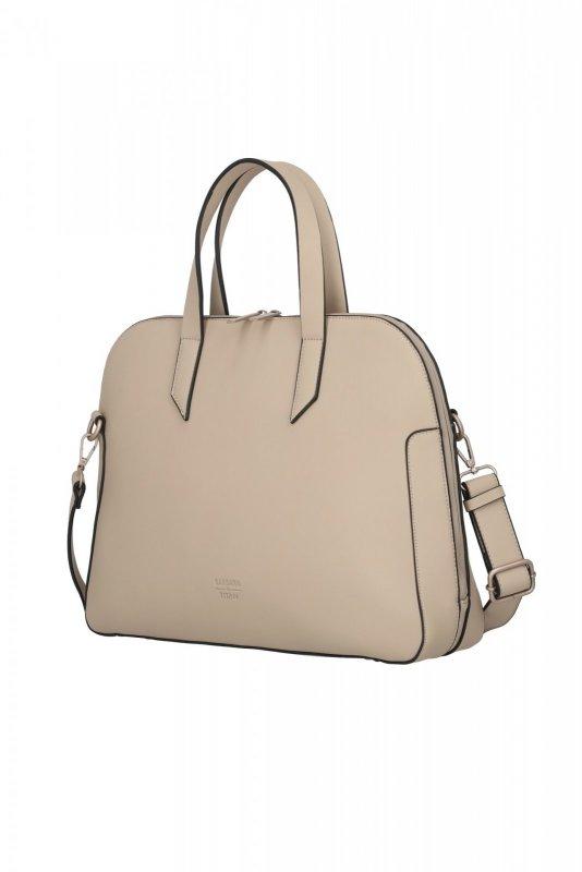 "Titan Barbara Pure Business Bag dámská kabelka na 13"" notebook 41 cm béžová"