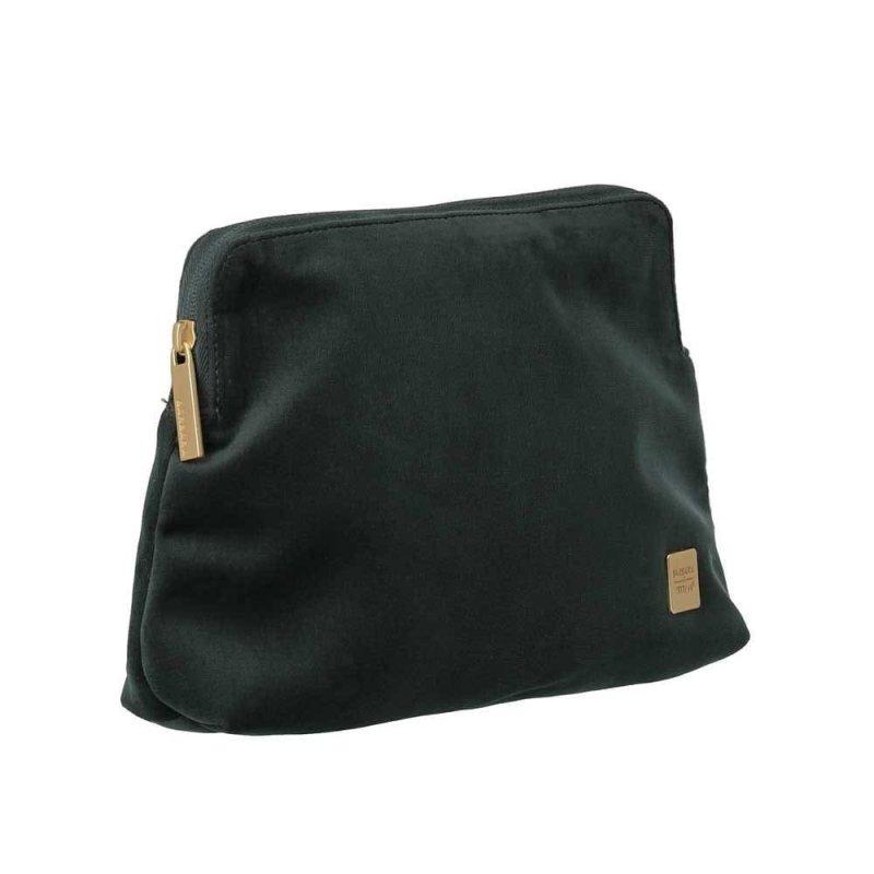 Titan Barbara Velvet Cosmetic Bag dámská kosmetická taška 24 cm Forest Green