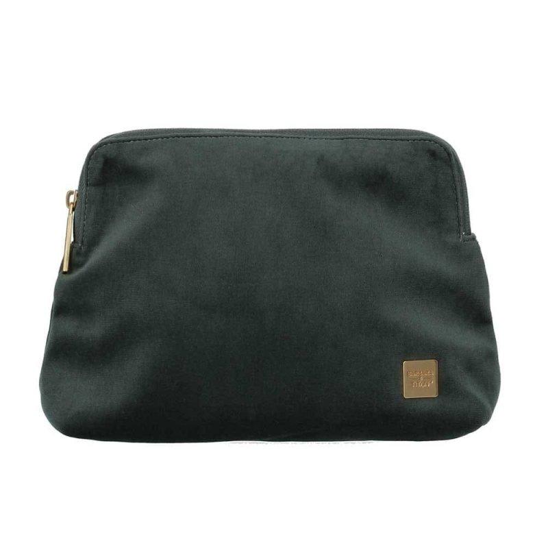 Levně Titan Barbara Velvet Cosmetic Bag dámská kosmetická taška 24 cm Forest Green