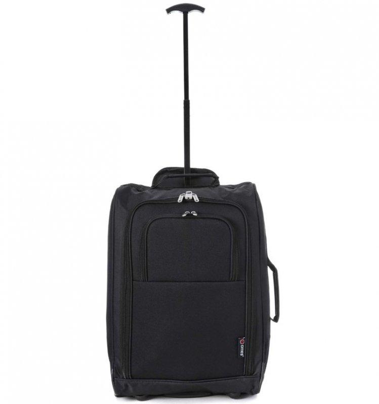 5 Cities T-830 S palubní kufr na 2 kolečkách 55 cm 1,65 kg oranžový