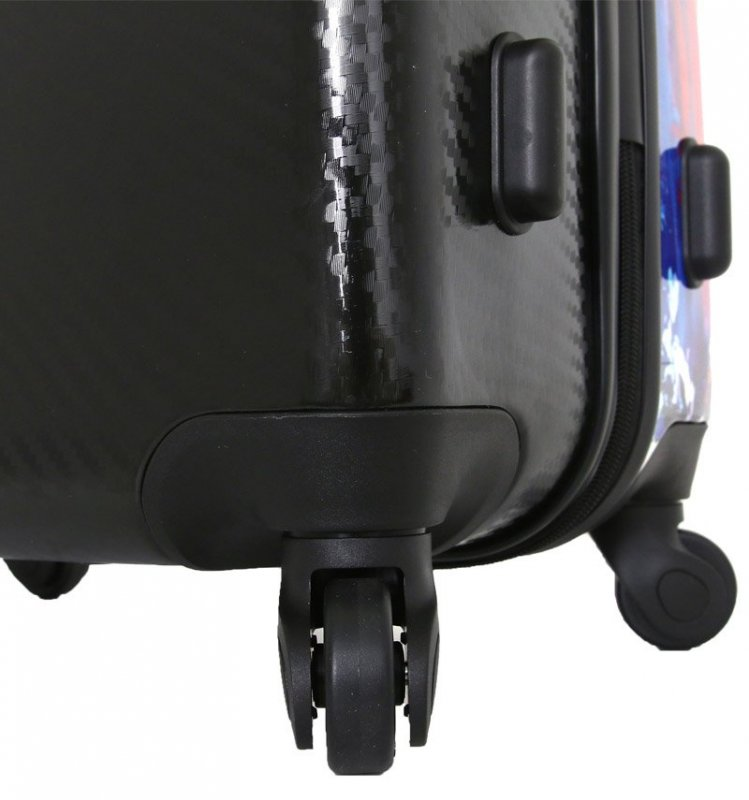 Mia Toro M1343/3-L Duaiv Splash cestovní kufr TSA 77 cm 99-124 l