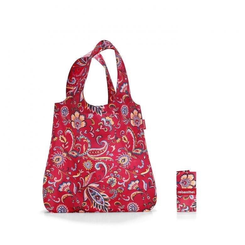 Reisenthel Mini Maxi Shopper skládací nákupní taška 15 l Paisley Ruby