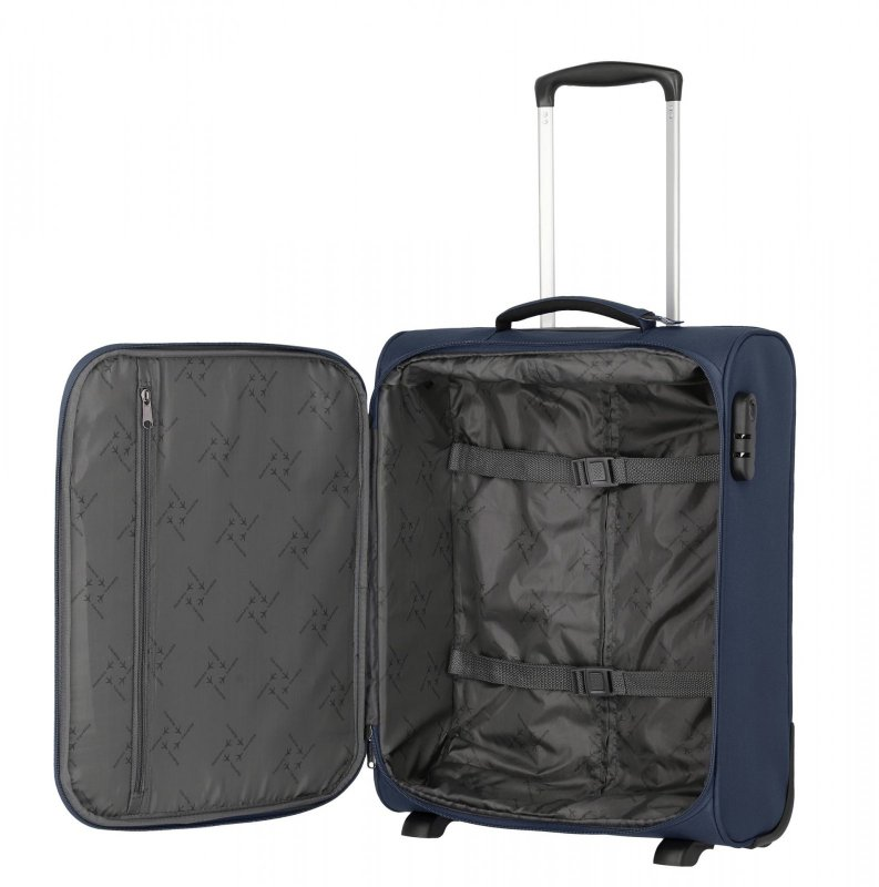 Travelite Cabin 2w S ultralehký palubní kufr 55x40x20 cm 1,9 kg Navy