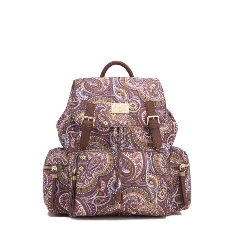 LiLiÓ Paisley Park Backpack městský dámský batoh 10,5 l Nutmeg Gold