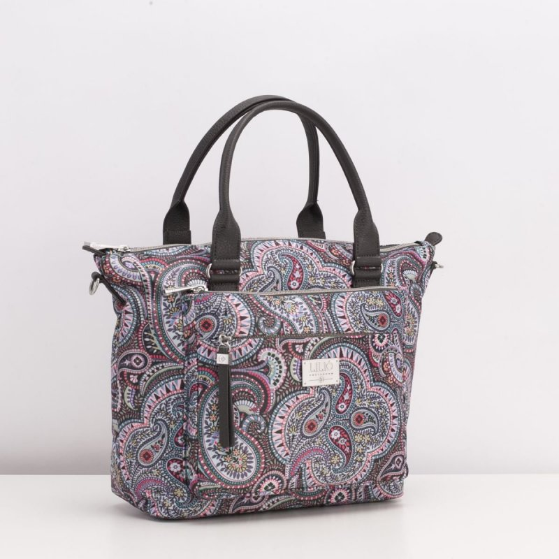 LiLiÓ Paisley Park Handbag elegantní kabelka 28 cm Sage