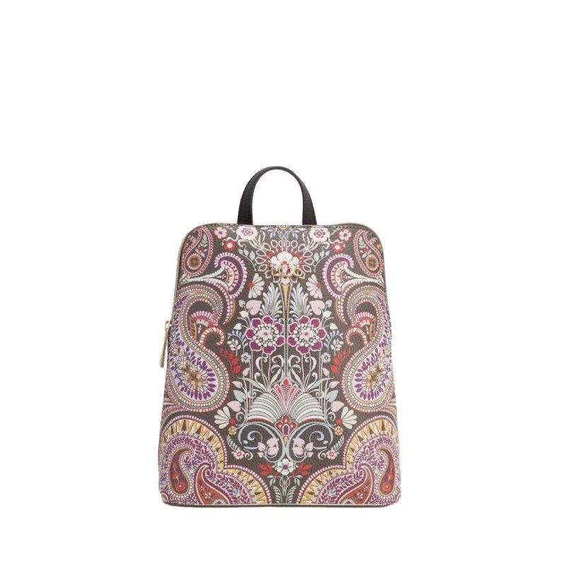 LiLiÓ Oh, My Paisley S Backpack luxusní dámský batůžek 4 l Cedar