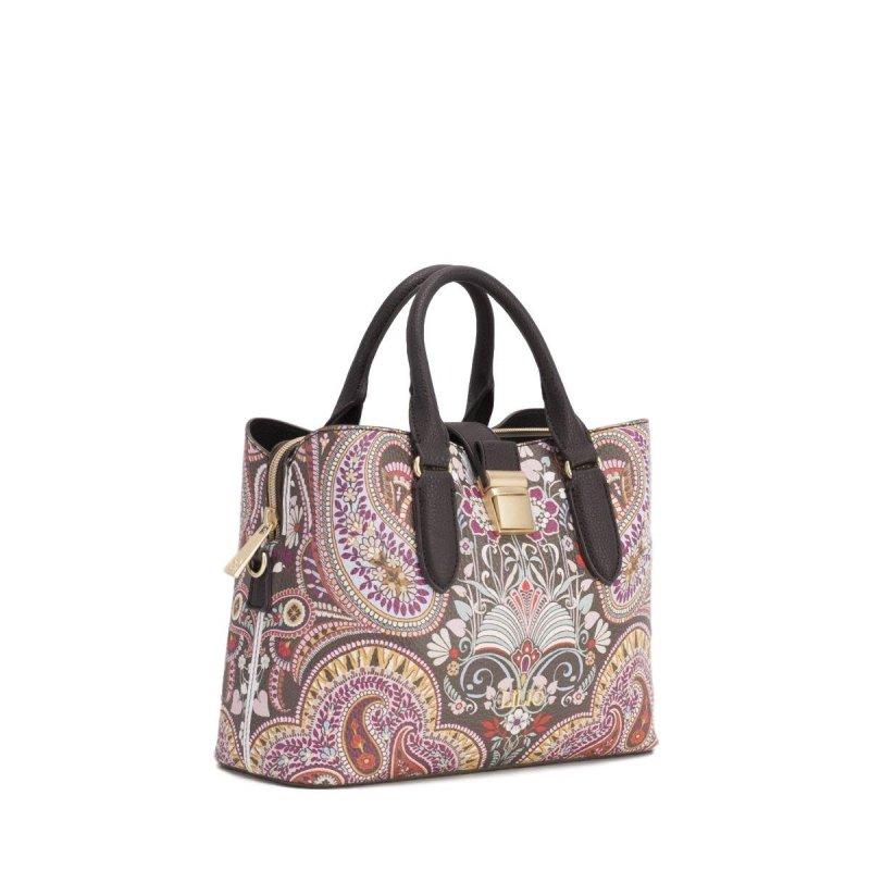 LiLiÓ Oh, My Paisley S Handbag luxusní kabelka 27 cm Cedar