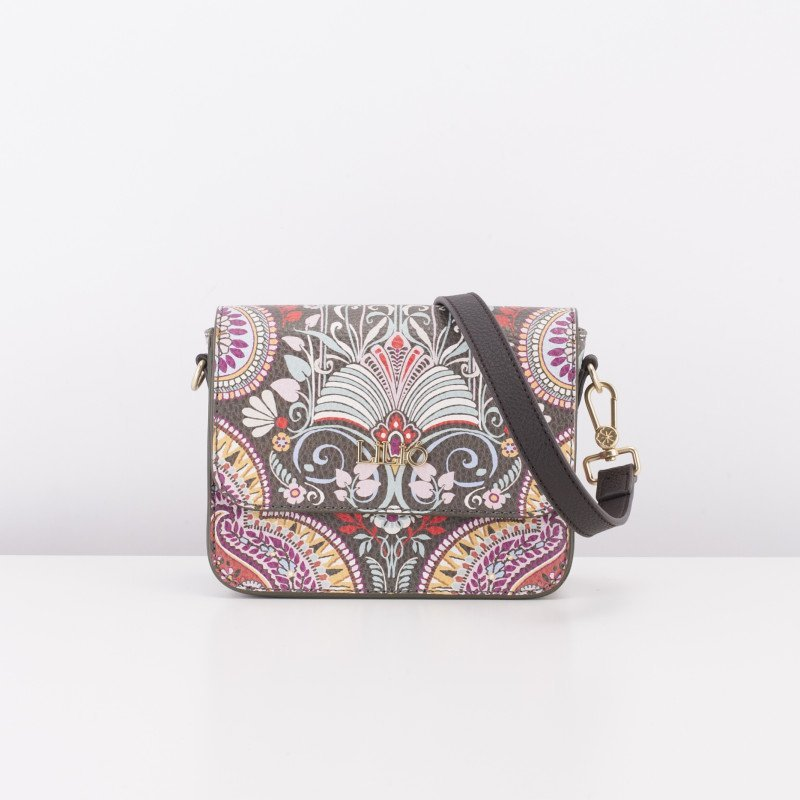 LiLiÓ Oh, My Paisley XS Flap Shoulder Bag luxusní kabelka 18 cm Cedar