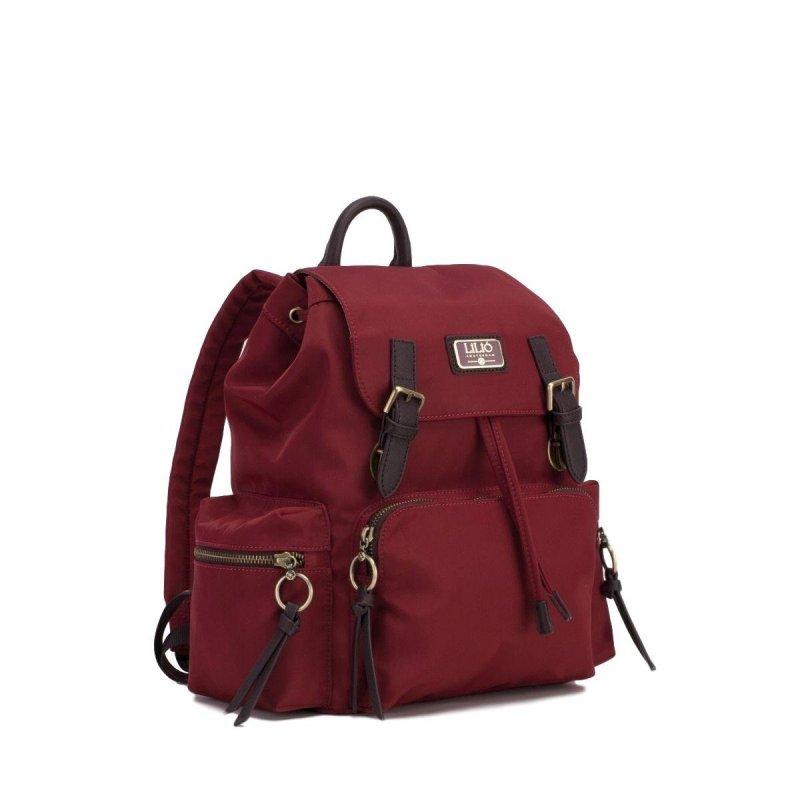 LiLiÓ Solid lilió Backpack městský dámský batoh 10,5 l Burgundy
