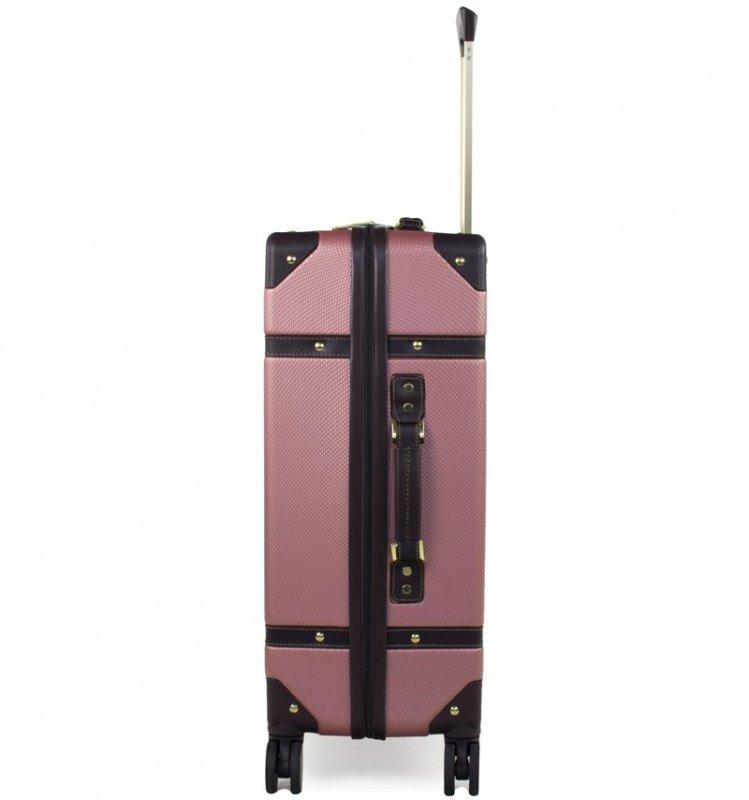 ROCK TR-0193 Vintage L cestovní kufr TSA 78 cm Black