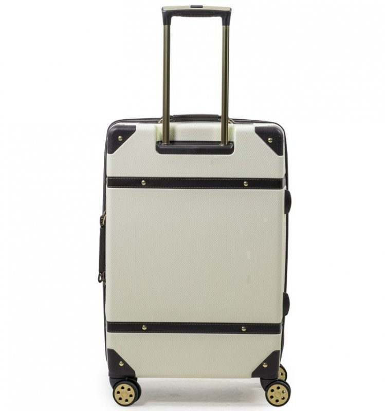 ROCK TR-0193 Vintage S/M/L sada 3 cestovných kufrov TSA 55/68/78 cm Pink