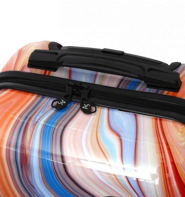 Mia Toro M1357/3-L Monino cestovní kufr TSA 74 cm 98-123 l