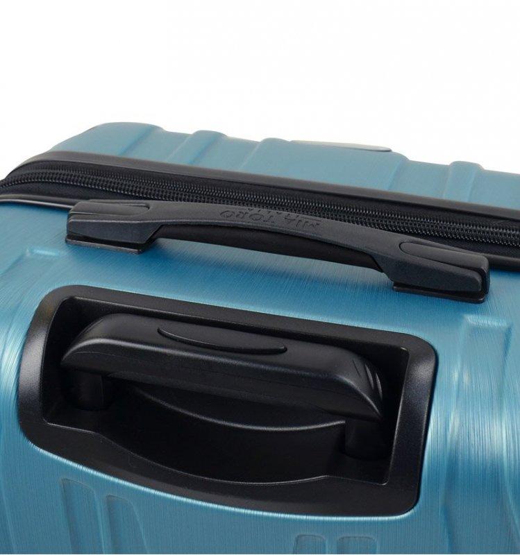 Mia Toro M1525/3-S Ferro palubní kufr TSA 54 cm 37-46 l Champagne