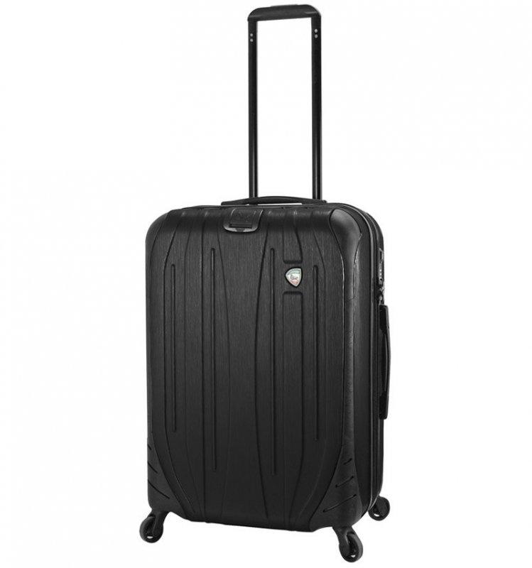 Mia Toro M1525/3-M Ferro cestovní kufr TSA 65,5 cm 62-78 l Graphite