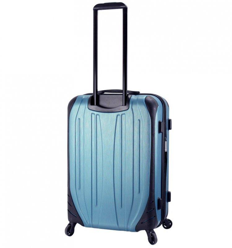 Mia Toro M1525/3-L Ferro cestovní kufr TSA 75 cm 95-119 l Slate Blue