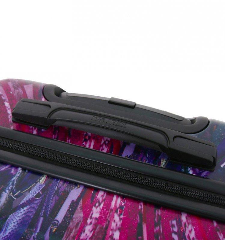 Mia Toro M1351/3-L Spider Eye cestovní kufr TSA 74 cm 98-123 l