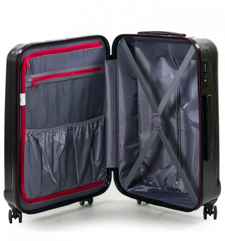 ROCK TR-0201 Graphite M cestovný kufor TSA 65 cm 57 l Gold