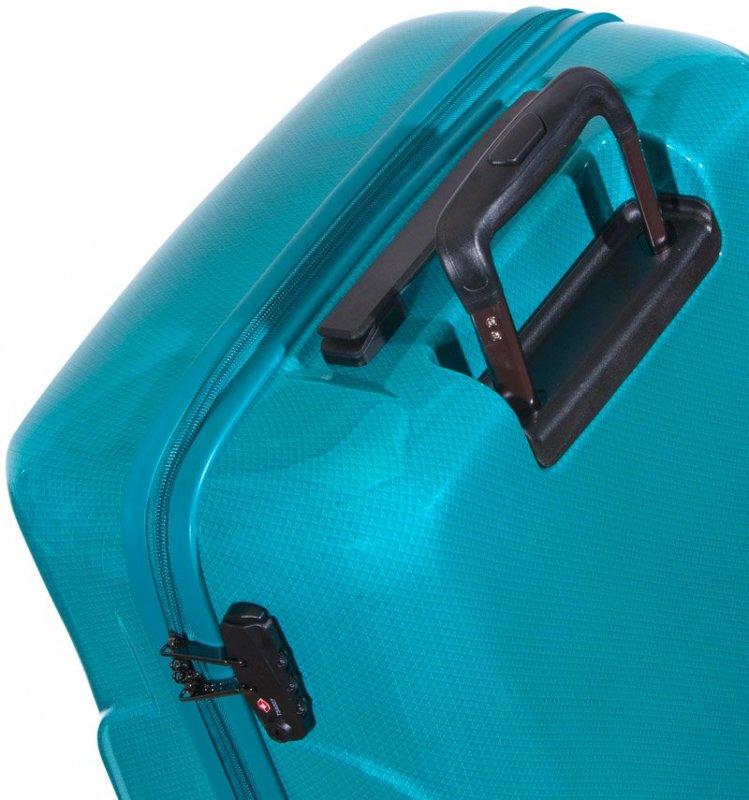 ROCK TR-0180 Jackson S palubný kufor do lietadla TSA 53 cm Turquoise