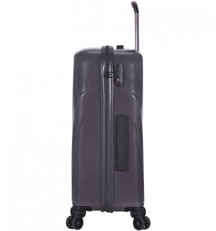 ROCK TR-0180 Jackson L cestovný kufor TSA 77 cm 94 l Charcoal
