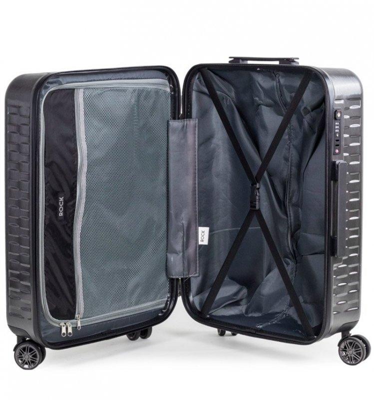ROCK TR-0192 Allure M cestovný kufor TSA 65 cm 63 l Pink