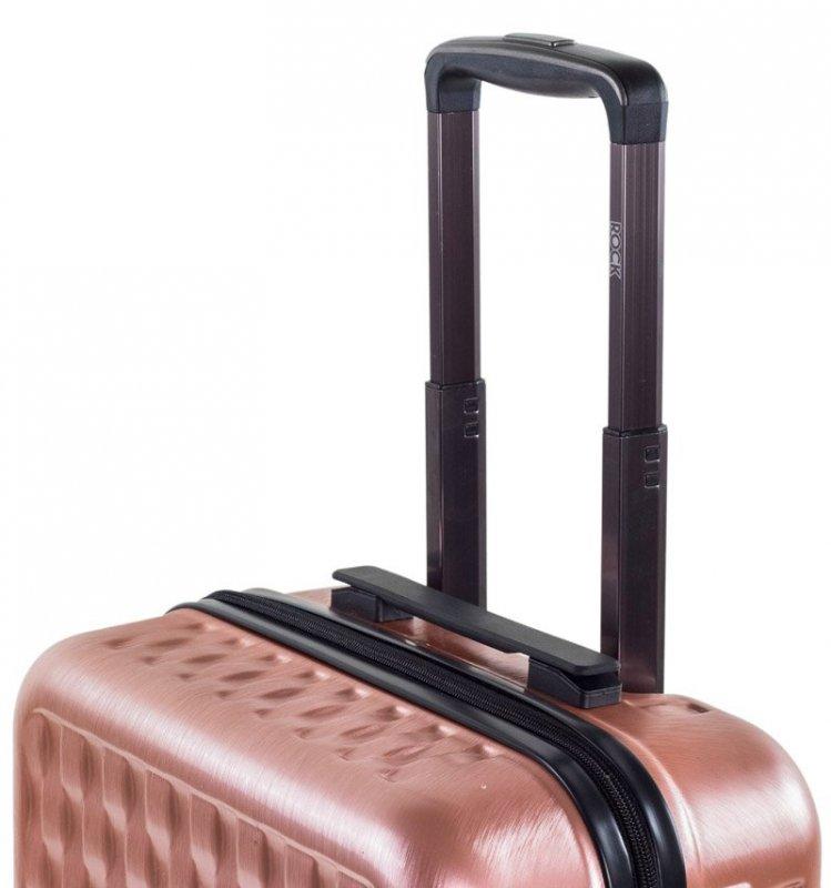 ROCK TR-0192 Allure M cestovný kufor TSA 65 cm 63 l Charcoal