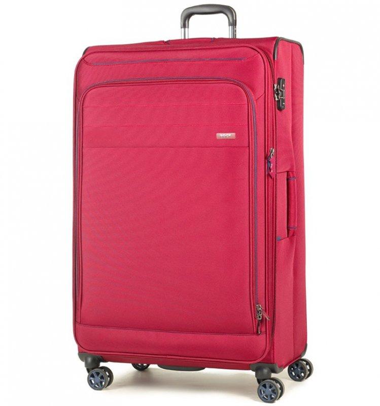 ROCK TR-0162 Apollo XL cestovný kufor TSA 89 cm 131/151 l červený