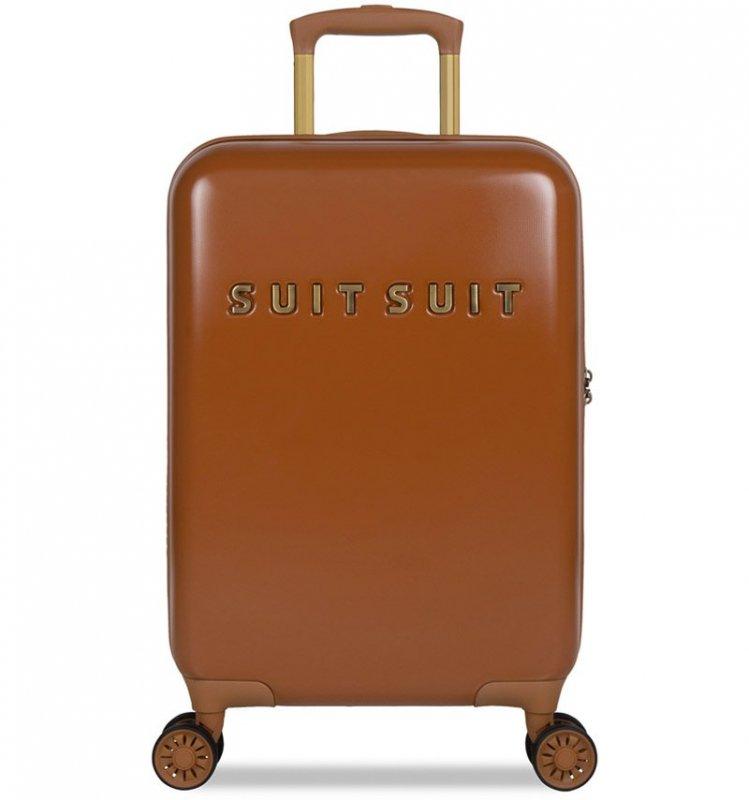 Kabinové zavazadlo SUITSUIT® TR-7106/3-S - Fab Seventies Leather Brown