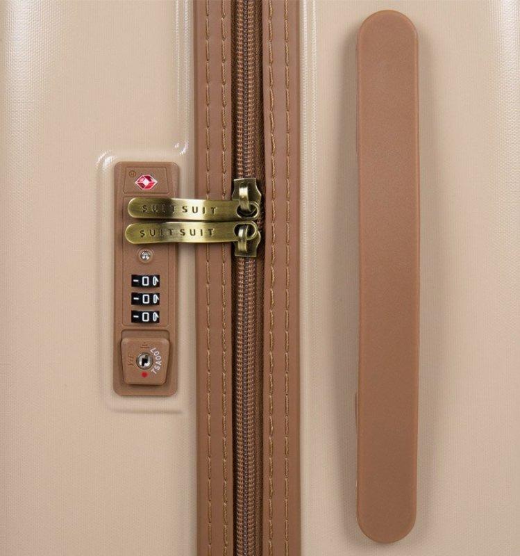 Cestovní kufr SUITSUIT® TR-7108/3-L - Fab Seventies Warm Sand