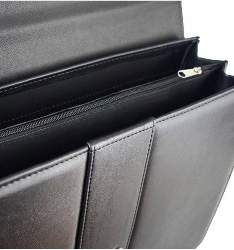 Aktovka REAbags 9003-TR - černá/nikl
