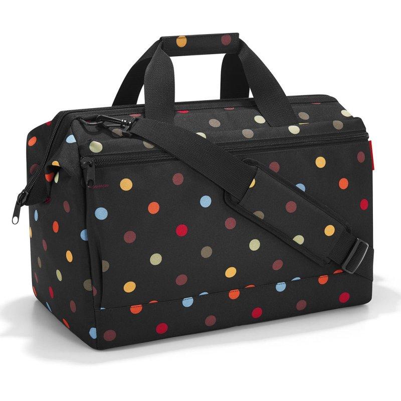 Reisenthel Allrounder L Pocket cestovní brašna 48 cm Dots