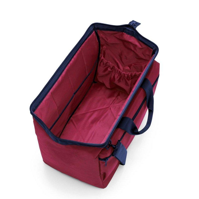 Reisenthel Allrounder L Pocket cestovní brašna 48 cm Dark Ruby