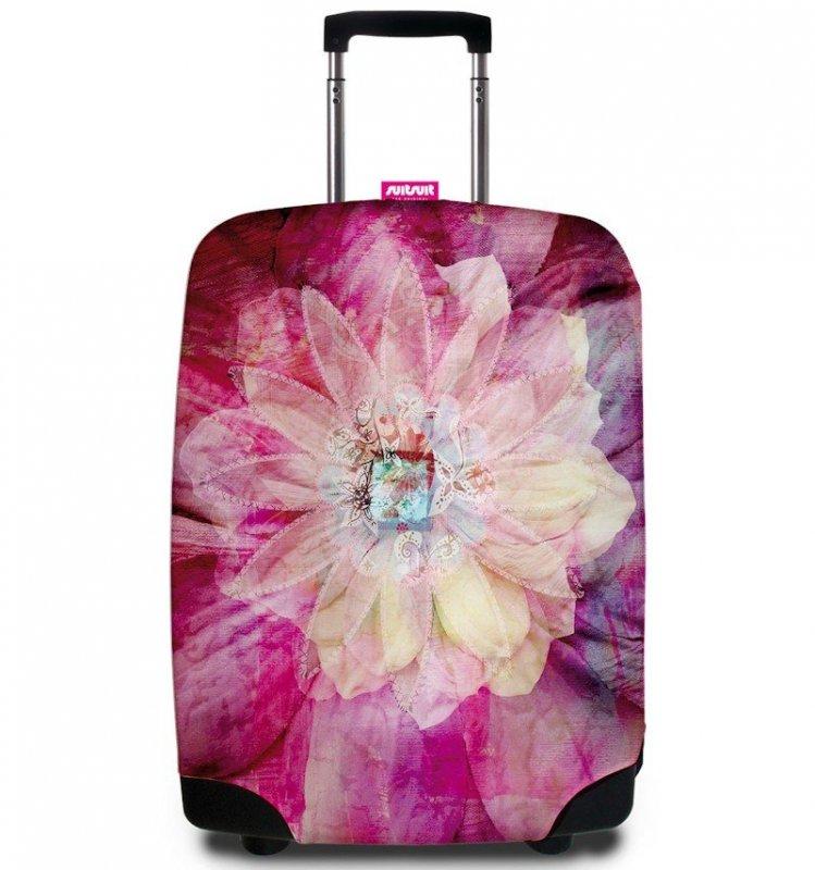 REAbags 9043 univerzální obal na cestovní kufr 60-80 cm Bohemian Rose