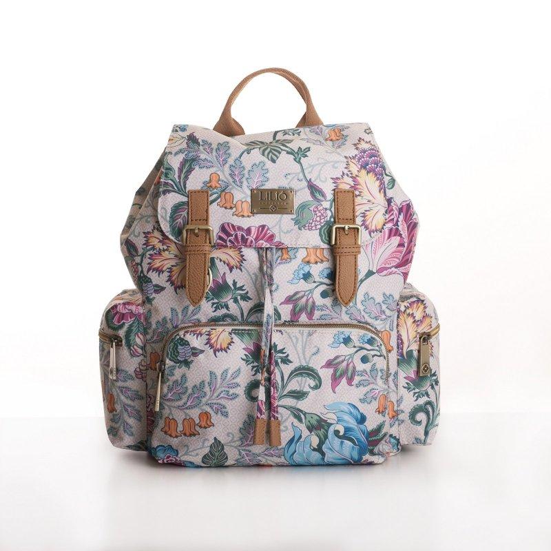 LiLiÓ Folkloric Fun Backpack městský dámský batoh 10,5 l Whipped Cream