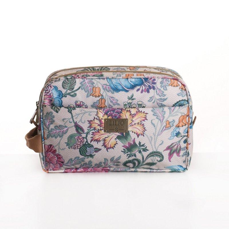 LiLiÓ Folkloric Fun Pocket Cosmetic Bag kosmetická taštička 26 cm Whipped Cream