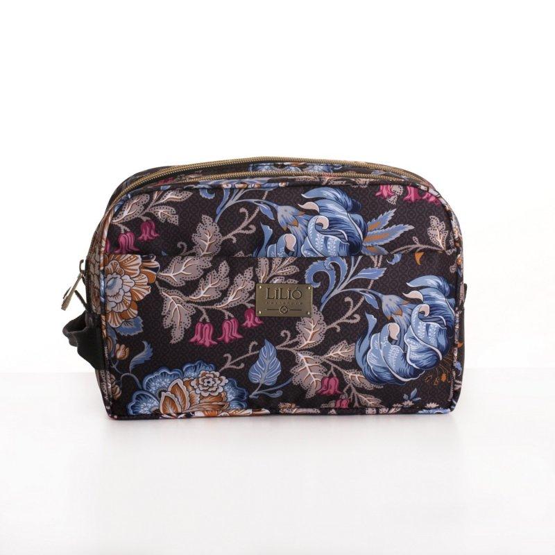 Levně LiLiÓ Folkloric Fun Pocket Cosmetic Bag kosmetická taštička 26 cm Dune