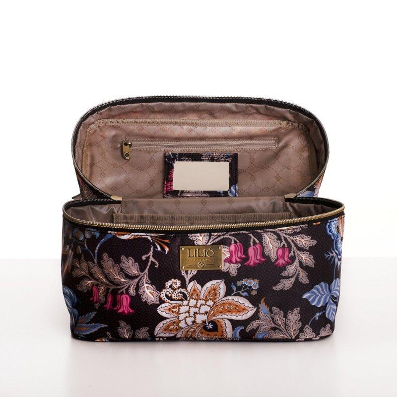 LiLiÓ Folkloric Fun L Beauty Case cestovní necesér 27 cm Whipped Cream