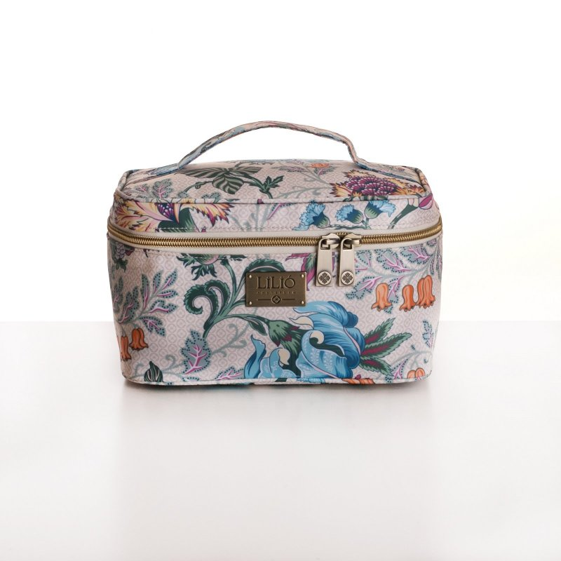 LiLiÓ Folkloric Fun M Beauty Case cestovní necesér 22 cm Whipped Cream