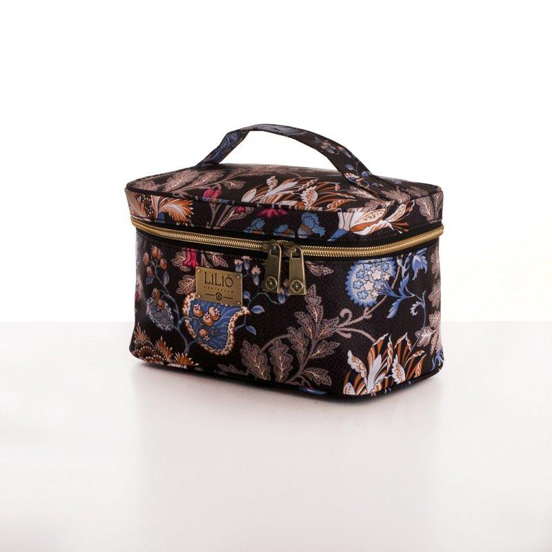 LiLiÓ Folkloric Fun M Beauty Case cestovní necesér 22 cm Dune