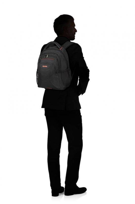 "American Tourister At Work batoh na 14.1"" notebook 20.5 l Black/Orange"