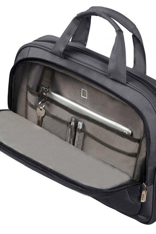 "American Tourister At Work aktovka na 15.6"" notebook Grey/Orange"