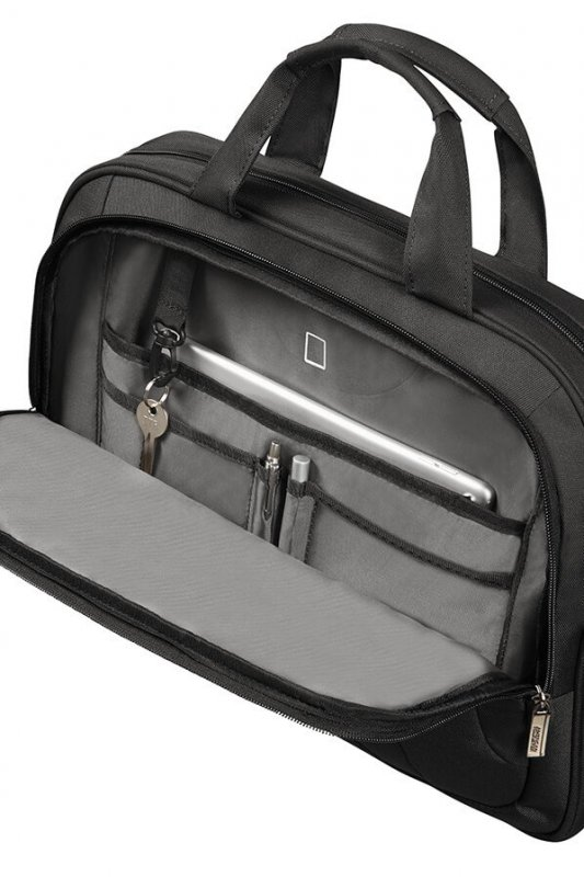 "American Tourister At Work aktovka na 14.1"" notebook Black/Orange"