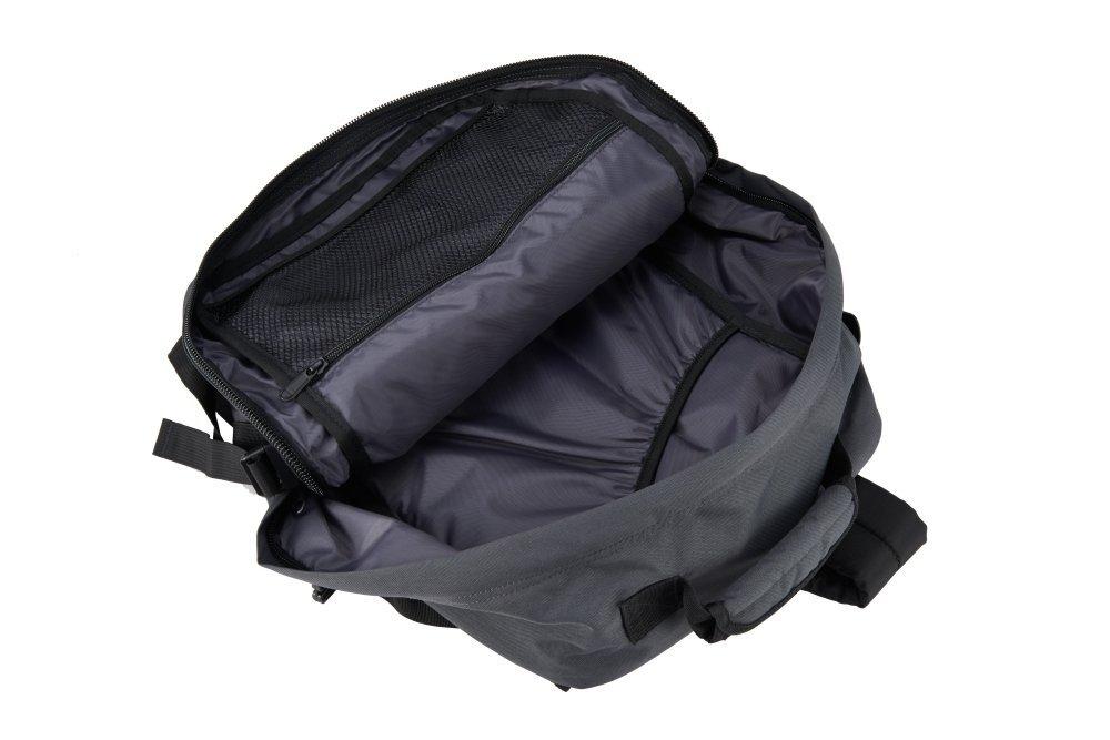 CabinZero Classic 28L Original Grey ultra-light palubní batoh-taška 39x29,5x20 cm