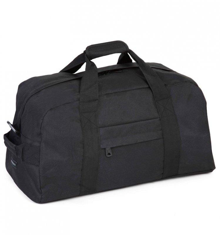 Member's Holdall HA-0046 Black cestovní taška černá 30x55x30 cm 50 l