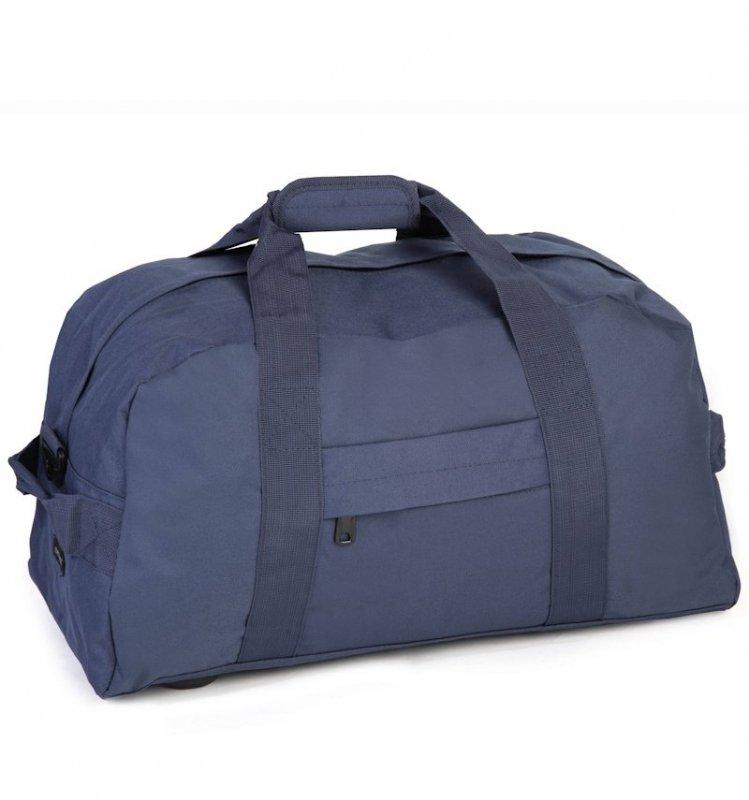 MEMBER'S HA-0046 lehká cestovní taška 30x55x30 cm 50 l modrá