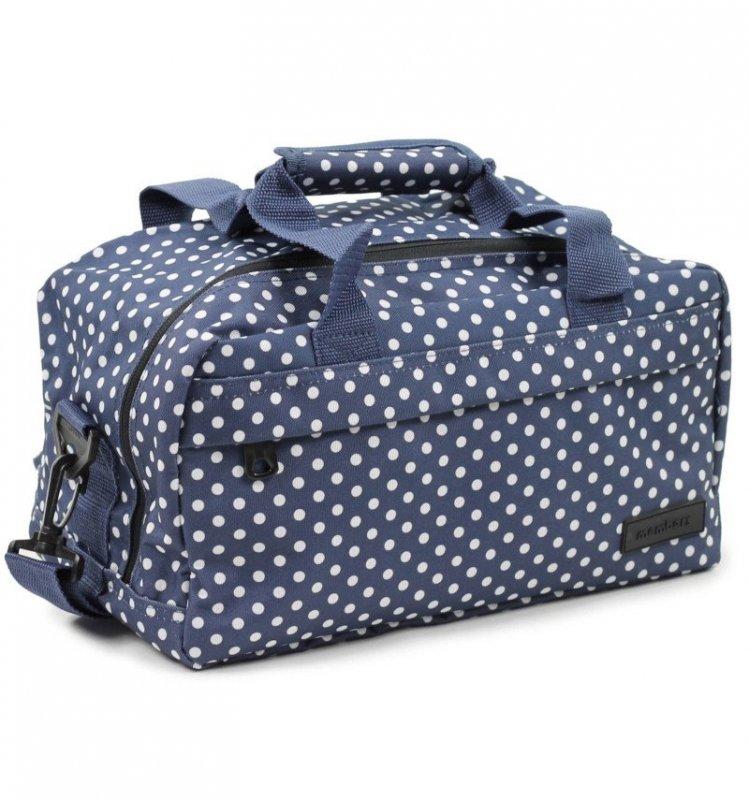 Member's SB-0043 palubní cestovní taška 40x20x25 cm Ryanair modrá/bílá